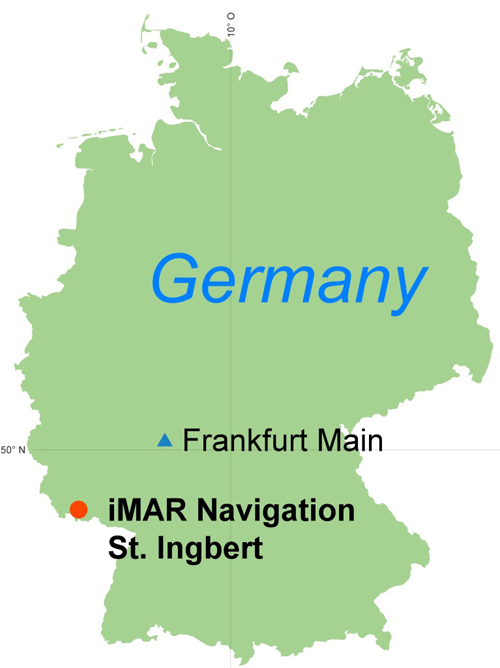 iMAR Navigation: location of headquarters in Germany