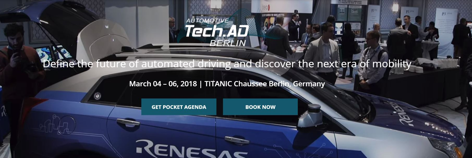 TECH.AD: From ADAS To Self Driving Vehicles Berlin 2018