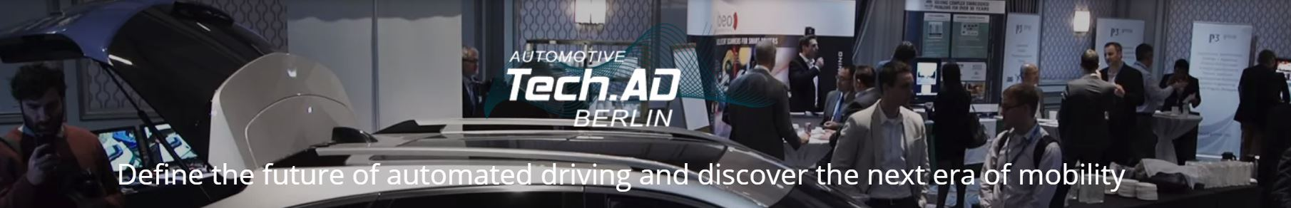 TECH.AD: From ADAS To Self Driving Vehicles Berlin