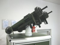 lab demonstrator of stabilized weapon station
