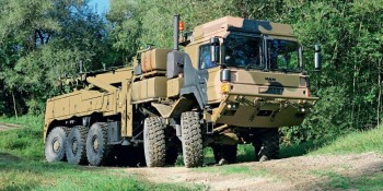 iNAT-M200 on MAN Heavy Tactical Recovery Vehicle (HTRV)