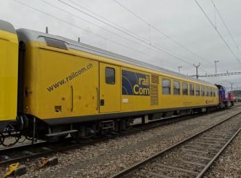 SBB: RF Detetor Rail Vehice, being online geo-located by iMAR's iNAT-RQT-4003